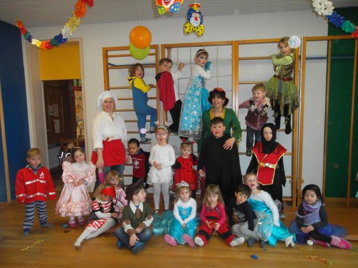 Fasching Im Kindergarten